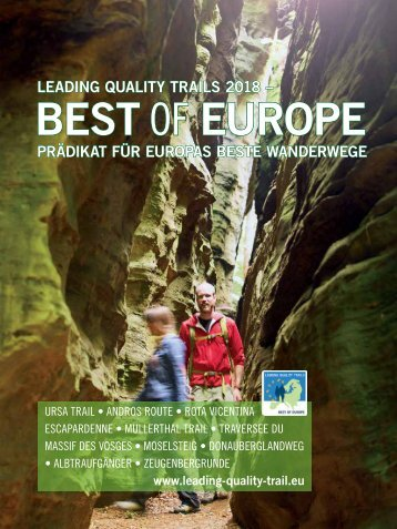 Best of Europe - Leading Quality Trails 2018