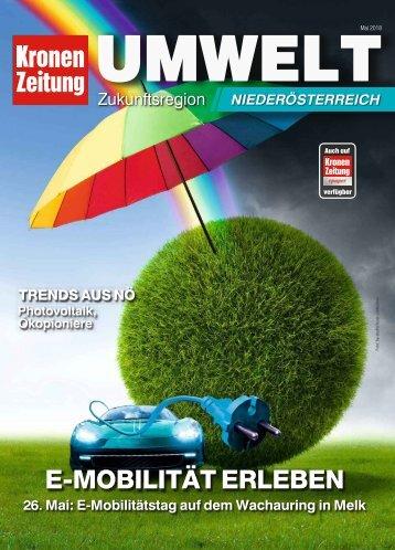 Umwelt Zukunftsregion Niederösterreich 2018-05-18