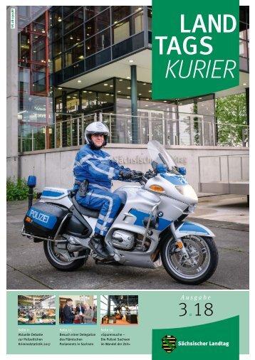 Landtagskurier, Ausgabe 3/2018
