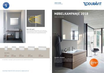 Duravit Møbelkampanje 2018