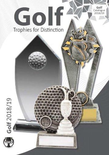 2018 Golf Catalogue