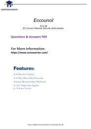 312-38 Real PDF Exam Material 2018