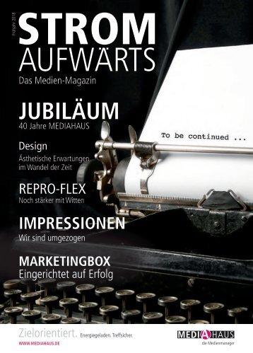 MEDIAHAUS Kundenjournal Frühjahr 2018
