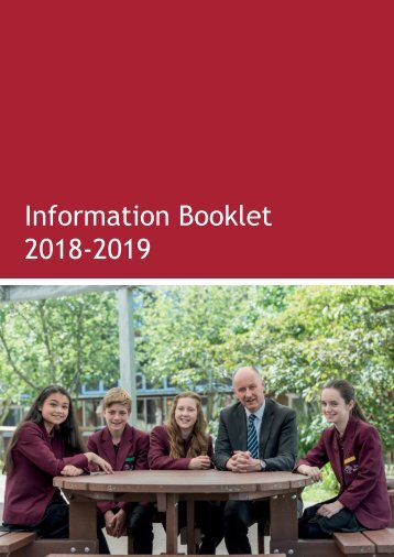 Information Booklet 2018-19 V5