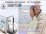 Diabetes 60 System - How To Control Sugar Level