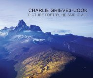Charlie Grieves-Cook: Picture Poetry, He Said It All