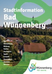 Stadtinformation Bad Wünnenberg