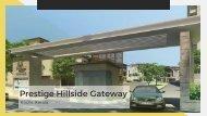 Prestige Hillside Gateway Luxury Residential Apartments and Villas in Kochi