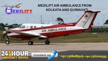 An Affordable Air Ambulance from Kolkata and Guwahati
