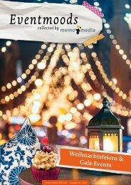 Weihnachtsfeiern & Gala-Events Eventmoods 2018-01