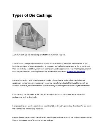 6 Aluminum casting China