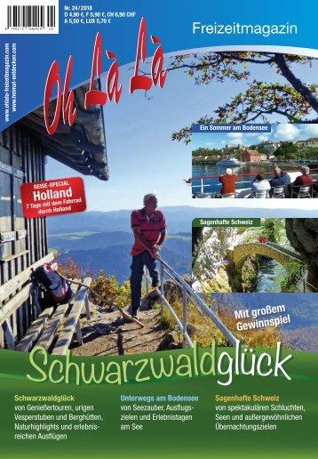 Oh Là Là Freizeitmagazin 2018