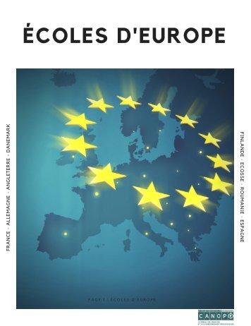 Ecoles d'Europe (1)