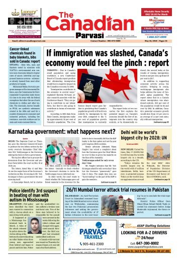 The Canadian Parvasi - Issue 46