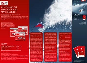 snowcard tirol folder - Ischgl
