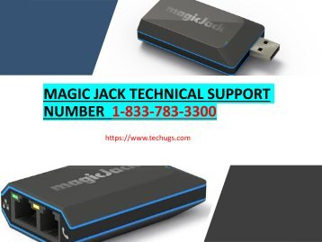 magic jack customer service number