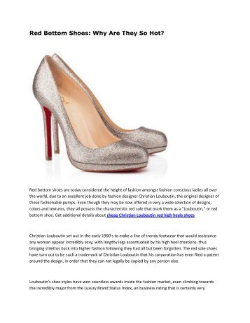 cheap Christian Louboutin red high heels shoes