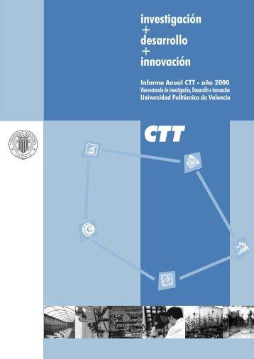 investigación + desarrollo + innovación - CTT - UPV