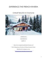 Chalet Baloo - Chamonix