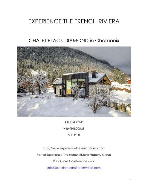 Chalet Black Diamond - Chamonix