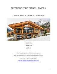 Chalet Black Stone - Chamonix