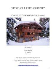 Chalet Les Gentianes - Courchevel