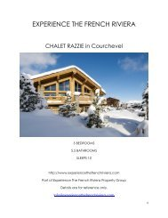 Chalet Razzie - Courchevel
