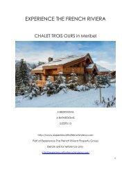 Chalet Trois Ours - Meribel