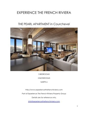 The Pearl Apartment - Courchevel