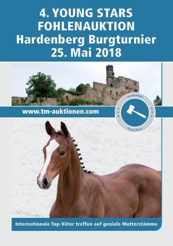 4. YOUNG STARS Fohlenauktion am 25. Mai 2018 auf dem Hardenberg-Burgturnier