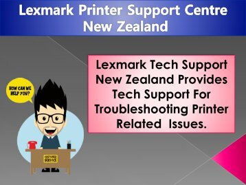 Lexmark Printer Support New Zealand
