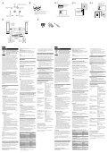 Sony SS-CS310CR - SS-CS310CR Mode d'emploi Allemand - Page 2