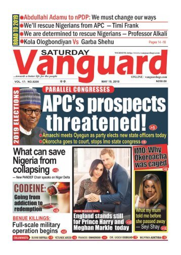 PARALLEL CONGRESSES: APC's prospects threatened!