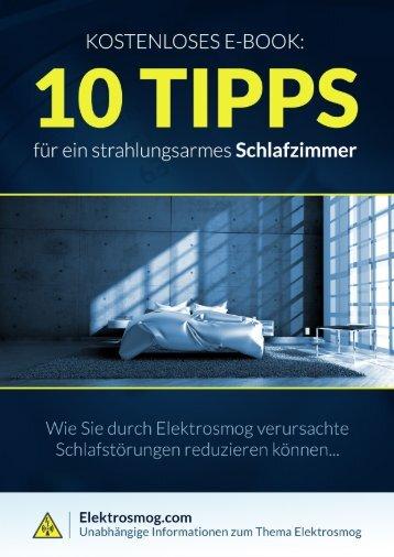 E-Book für ein strahlungsarmes Schlafzimmer