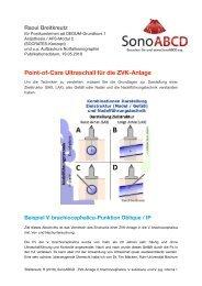 ZVK-Anlage: Variationen der Point-of-Care Ultraschall Verfahren V. brachiocephalica, V. subclavia und VJI