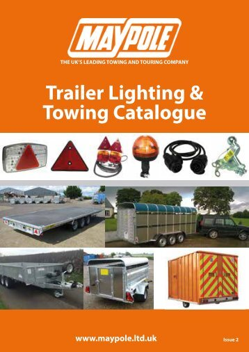 Maypole Lighting and Towing Catalogue RGB