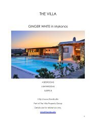 Ginger White - Mykonos