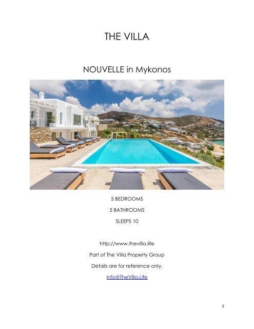 Nouvelle - Mykonos