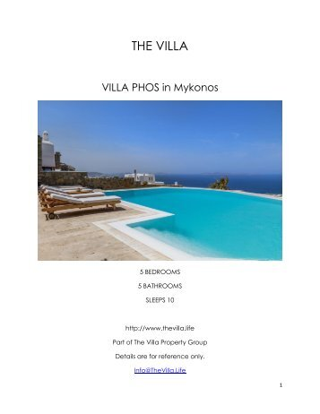 Villa Phos - Mykonos