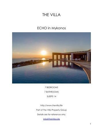 Echo - Mykonos