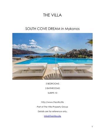 South Cove Dream - Mykonos