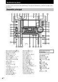 Sony MHC-VX333 - MHC-VX333 Consignes d'utilisation Espagnol - Page 4