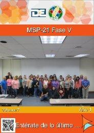 MSP-21 Fase V - Volumen 7