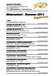 1. Platz Klausberg Seilbahnen, Südtirol (I) Aufsteiger ... - Seilbahn.net