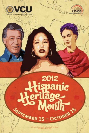 L-R: Cesar Chavez, Selena, Frida Kahlo de Rivera Artist: William ...