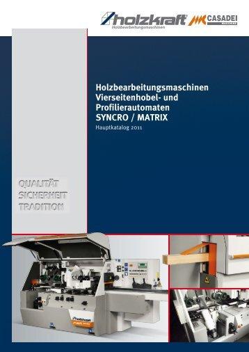 Holzbearbeitungsmaschinen Vierseitenhobel- und ...