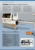 Holzbearbeitungsmaschinen Vierseitenhobel- und ... - Seite 4