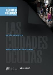 La superación de las inequidades sanitarias - Hidden Cities