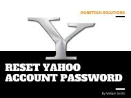 How To Reset Yahoo Account Password - Updated  You Must See!!!
