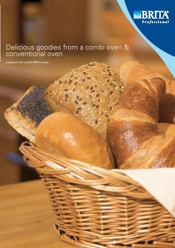 Delicious goodies from a combi oven & conventional ... - BRITA GmbH